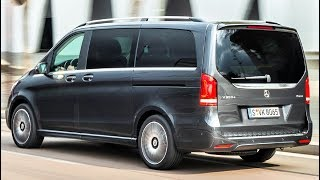 2019 Mercedes V Class 300 d 4MATIC - New Design And Even Greater Comfort