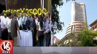 Sensex Crosses 35-000 For The First Time- Nifty At New Closing High  - netivaarthalu.com