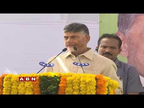CM Chandrababu Participates In Swachate Seva Programme at Vijayawada | ABN Telugu