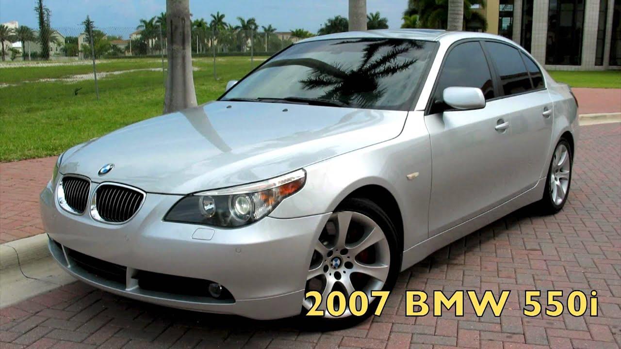 2007 Bmw 550i Silver A2506 Youtube