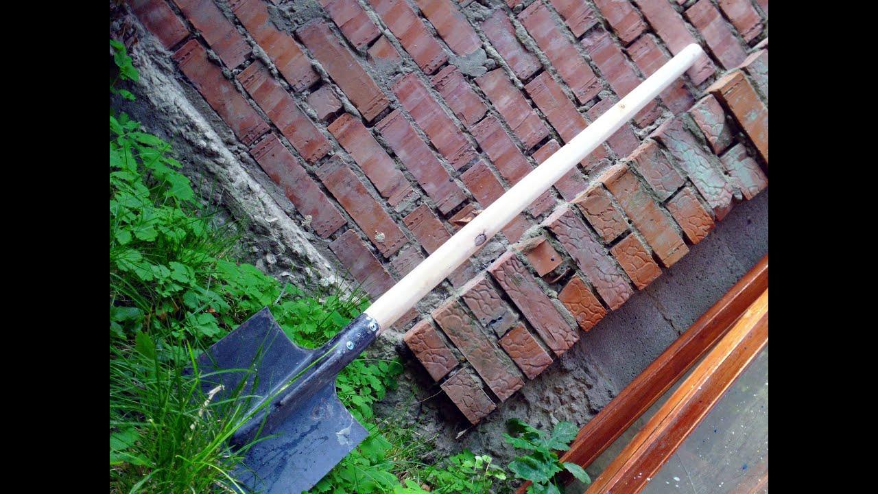 Изготовление черенков для лопат станок своими руками