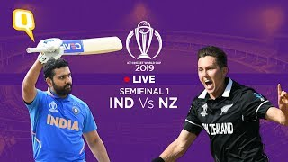 ICC World Cup 2019 LIVE | Semifinal 1: India Vs New Zealand | Rohit Sharma Vs Trent Boult