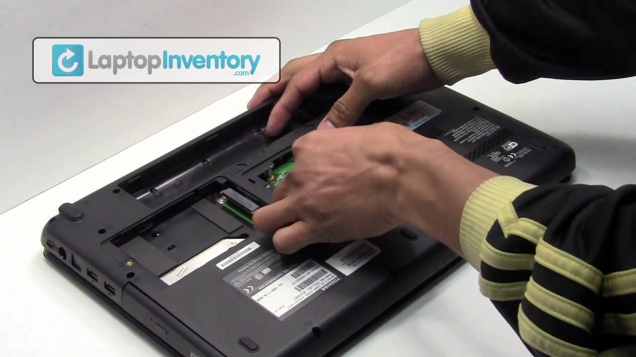 Toshiba Satellite Laptop Repair Fix Disassembly Tutorial
