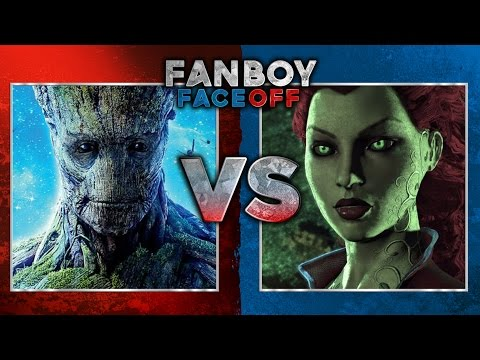 Groot vs Poison Ivy: Fanboy Faceoff
