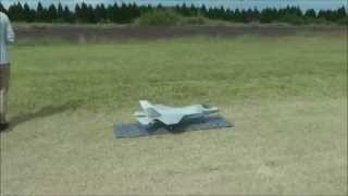RC F-35 VTOL MODE FLIGHT