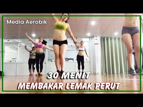 Senam Aerobic 30 Menit Membakar Lemak Dan Mengecilan Perut