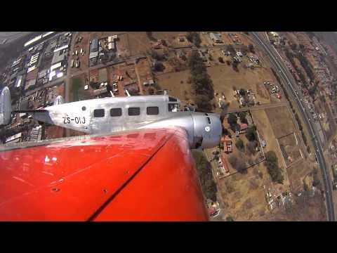 Beech 18 Display At Rand Airport Air Show South Africa