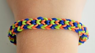"Rainbow Loom MonsterTail  ""Odwrócony rybi ogon"""