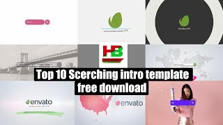 Top 10 searching intro template free download | after effects intro template | help bangla pro | 4K