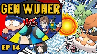 [EP14] Pokemon GenWunner VS [Pokemon Red/Blue/Yellow] Feat Blue Rogue, ItzPalpitoad and Aronskii