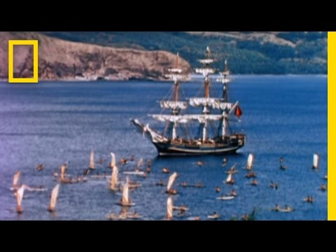 Exclusive HMS Bounty Video: Sandy Casualty's 1960 Debut