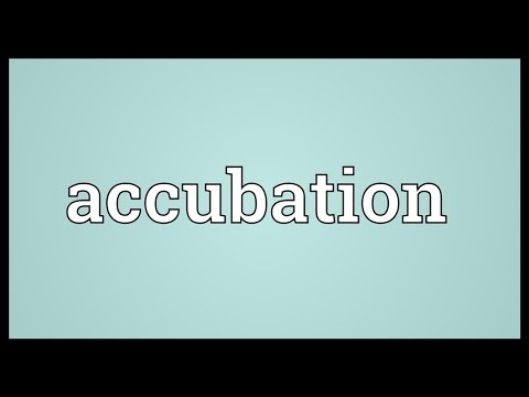 Header of Accubation