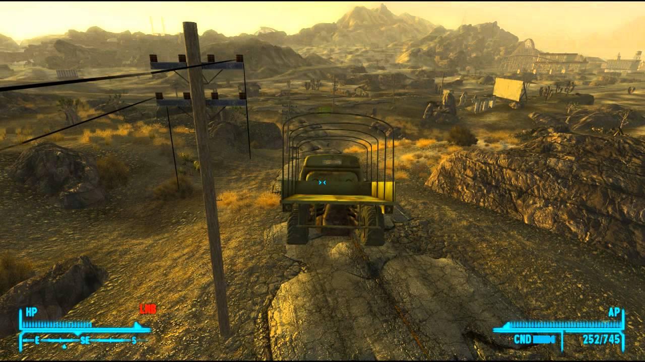 Fallout New Vegas Cars Fallout New Vegas Mod Reviews