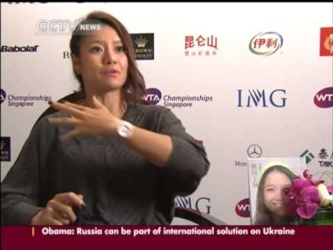 Li Na discusses her goals and the controversies that have dogged her