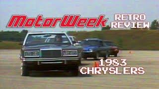 Retro Review: 1983 Chrysler Corp. Lineup