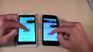 Gsmart Essence vs iPhone 5 (HD)