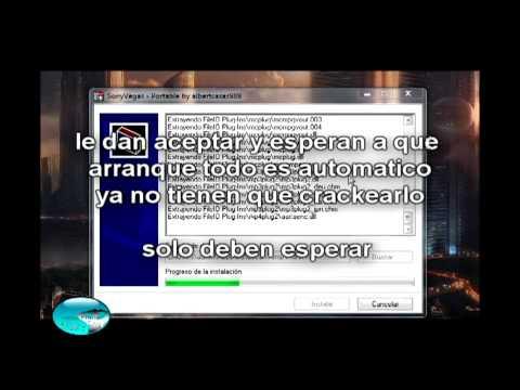 Sony Vegas 9 Portable como descargarlo
