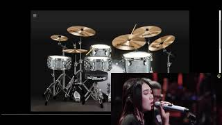 Via Vallen - Sedih tak berujung by glen fredly ( Cover Version) - Virtual drumming cover