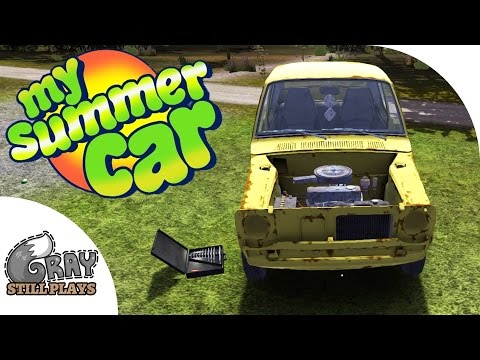 My Summer Car - Wheel Alignment, Engine Tuning, Ordering Custom Parts - Gameplay Highlights Ep 9