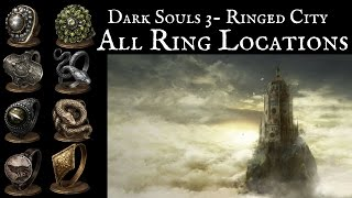 [DS3: The Ringed City] All DLC Ring Locations