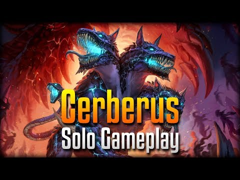 Smite: THE GUARDIAN FROM HELL!- Cerberus Solo PTS Gameplay