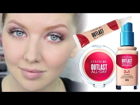 Concealer WEAR Test | COVERGIRL Outlast Application & Review