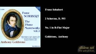 Franz Schubert, 2 Scherzos, D. 593, No. 1 in B-Flat Major
