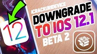 Downgrade iOS 12.1.2 to iOS 12.1 beta & Jailbreak Update! iOS 12 - 12.1.3 (KEEP DATA)