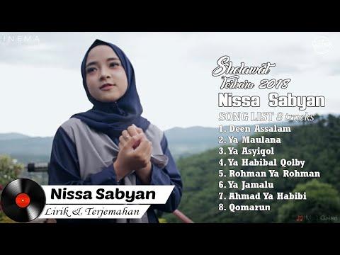 DOWNLOAD NISSA SABYAN Full Album Video Lirik   Lagu Sholawat Terbaru 2018
