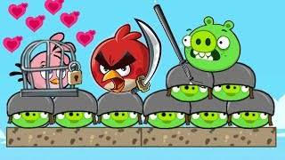 Angry Birds Heroic Rescue - KICKING OUT ALL PIGGIES AND TAKE STELLA LEVELS FINAL!