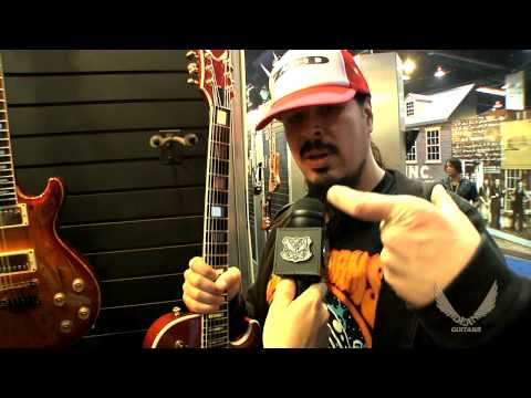 Dean Guitars 2014 N.A.M.M. - Craig LoCicero of SpiralArms / Forbidden