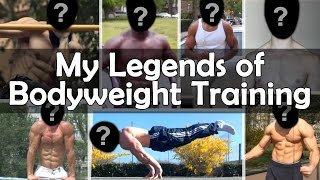 Legends of Street Workout/Calisthenics - Motivation & Inspiration