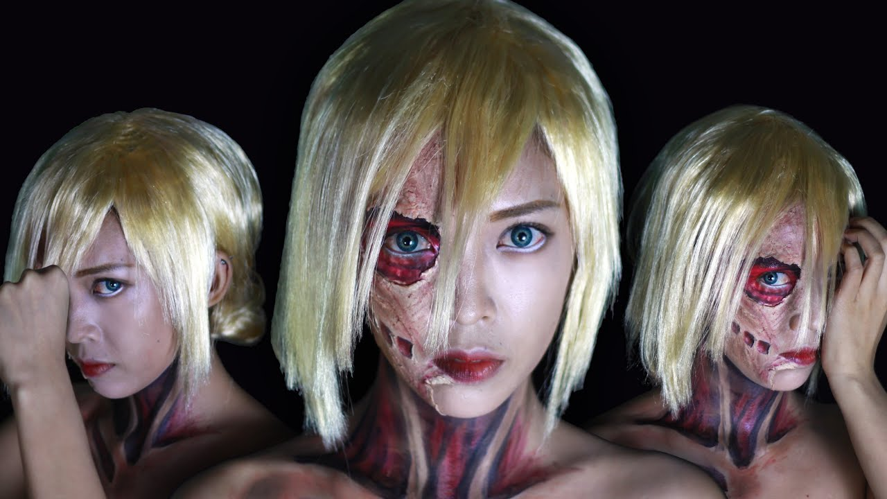 Annie Female Titan Makeup