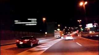 Prelude driving in TOKYO High-way2012-03-29/VAL-SOUND