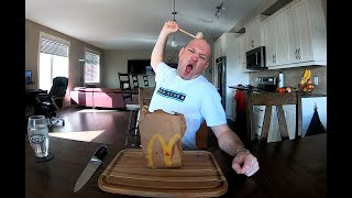 Review #55 McDonald's Chicken McGriddle & Chicken McMuffin    4K