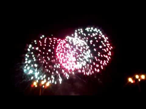 Фейерверк на день города  2012 г. Горловка .mp4