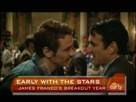 James Franco's Milk Role