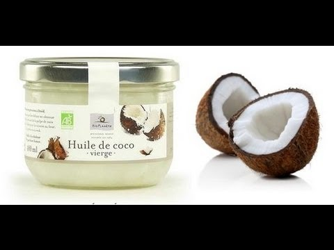 la meilleure huile pour les cheveux l 39 huile de coco youtube. Black Bedroom Furniture Sets. Home Design Ideas