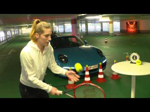Parking Challenge with Andrea Petkovic - Porsche Tennis Grand Prix 2016