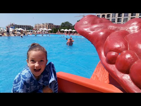 МЕГА Аквапарк в Болгарии аквапарк Атлантида Елените часть 2