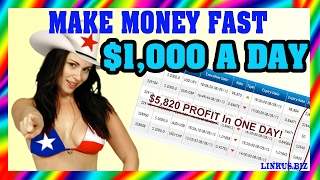 How To Make Money Online From Home - How To Get Rich Fast $1000 Per Day Case 13