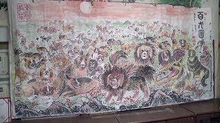 80-year-old paints hundreds of dogs to welcome Spring Festival