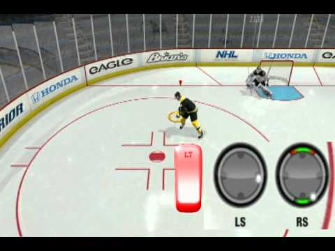 NHL 12 - Shootout Move Tutorial