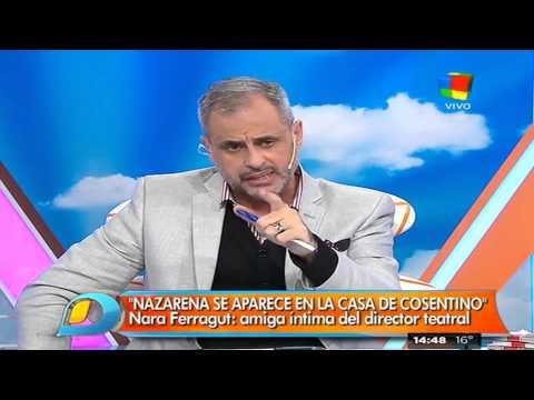 Desesperado mensaje de Nazarena Vélez a Marcelo Cosentino