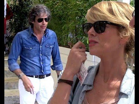 Alessia Marcuzzi con Paolo, passione tennis