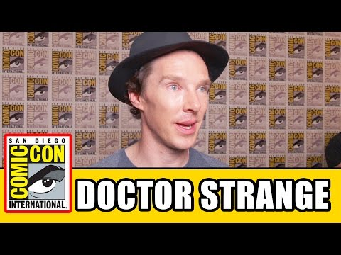 DOCTOR STRANGE Comic Con Interviews - Benedict Cumberbatch, Mads Mikkelsen, Chiwetel Ejiofor
