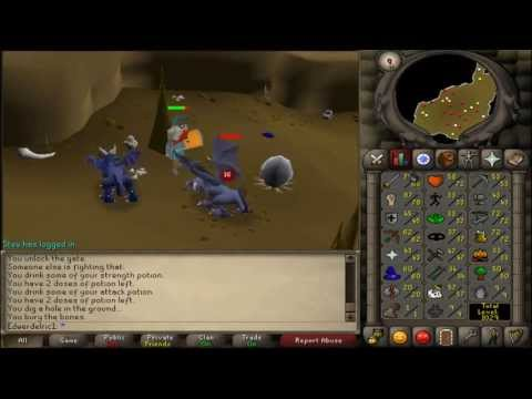 Runescape 2007-Road To Maxed Zerker-Episode #12 70 Attack Achieved!