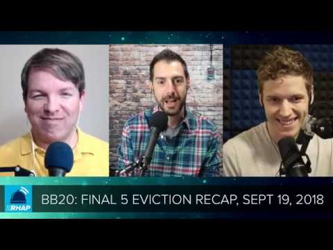 BB20 | Wednesday Final 5 Eviction Recap - 9/19/18