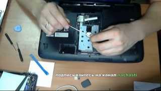 как разобрать ноутбук Acer aspire 5738ZG how to take apart a laptop notebook Acer 5738ZG