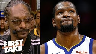KD to the Knicks is like LeBron joining the Lakers – why would you do it?  – Snoop Dogg | First Take